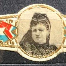 Vitolas de colección: VITOLA - RETRATO REINA EMMA DE HOLANDA. Lote 202690435