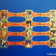 Vitolas de colección: ROKENDE JAN, BUGALOOS, 12 VITOLAS, SERIE COMPLETA.. Lote 202814033