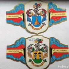 Vitolas de colección: COLECCIONISMO - OBJETOS PARA FUMAR - VITOLAS. Lote 203040945