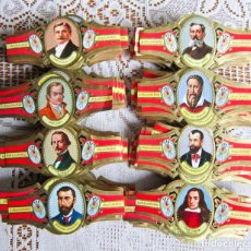 Vitolas de colección: MÁS DE 500 VITOLAS ALVARO SERIE PINTORES ESPAÑOLES. Lote 203501605
