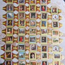 Vitolas de colección: 44 VITOLAS ALVARO. CUADROS DE PINTORES ESPAÑOLES. Lote 203503126