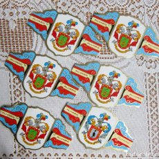 Vitolas de colección: 6 VITOLAS ALVARO , HERALDICA. Lote 203503858