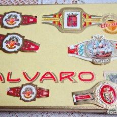 Vitolas de colección: LOTE VARIAS VITOLAS. 6 ALVARO Y OTRAS. Lote 203506170