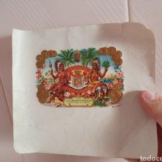 Vitolas de colección: ETIQUETAS DE VITOLAS EN RELIEVE. Lote 161709656