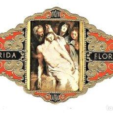 Vitolas de colección: VITOLAS FLORIDA PINTORES BELGAS SERIE A Nº 2 VITOLINA GRAN FORMATO. Lote 205590893