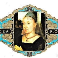 Vitolas de colección: VITOLAS FLORIDA PINTORES BELGAS SERIE A Nº 5 VITOLINA GRAN FORMATO. Lote 205591030
