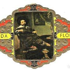 Vitolas de colección: VITOLAS FLORIDA PINTORES BELGAS SERIE B Nº 7 VITOLINA GRAN FORMATO. Lote 205591287