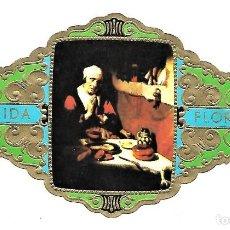 Vitolas de colección: VITOLAS FLORIDA PINTORES BELGAS SERIE B Nº 8 VITOLINA GRAN FORMATO. Lote 205591412