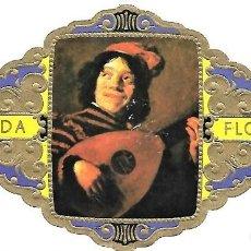 Vitolas de colección: VITOLAS FLORIDA PINTORES BELGAS SERIE B Nº 9 VITOLINA GRAN FORMATO. Lote 205591513