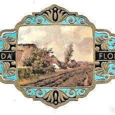 Vitolas de colección: VITOLAS FLORIDA PAISAJES DE BÉLGICA SERIE A Nº 5 VITOLINA GRAN FORMATO. Lote 205592480