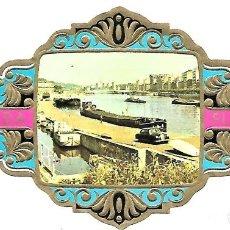 Vitolas de colección: VITOLAS FLORIDA PAISAJES DE BÉLGICA SERIE B Nº 10 VITOLINA GRAN FORMATO. Lote 205592643