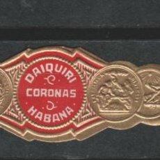 Anéis de charuto de coleção: LOTE (15) VITOLA CUBA HABANA. Lote 205808017
