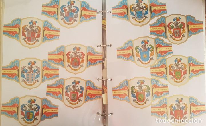 Vitolas de colección: LOTE +1000 VITOLAS - ALVARO, REIG, CAPOTE, ESMERALDA, LA FAMA, +ÁLBUM HOFMANN - Foto 4 - 206217800