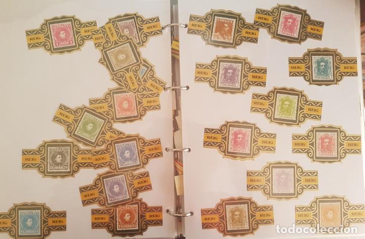 Vitolas de colección: LOTE +1000 VITOLAS - ALVARO, REIG, CAPOTE, ESMERALDA, LA FAMA, +ÁLBUM HOFMANN - Foto 7 - 206217800