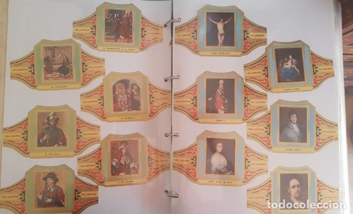 Vitolas de colección: LOTE +1000 VITOLAS - ALVARO, REIG, CAPOTE, ESMERALDA, LA FAMA, +ÁLBUM HOFMANN - Foto 9 - 206217800
