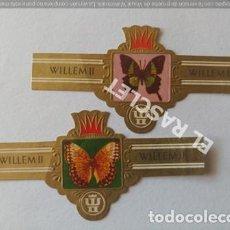 Vitolas de colección: VITOLA WILLEM II SERIE V Nº 2494 Y 2498. Lote 206478338