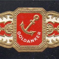Vitolas de colección: VITOLA CLASICA: 032006, TEMA ANCLAS, GOLDANKER.. Lote 206509685