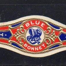 Vitolas de colección: VITOLA CLASICA: 032009, TEMA CUBRECABEZAS, BLUE BONNET.. Lote 206509736