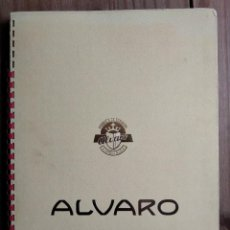 Vitolas de colección: VITOLAS ALVARO ALBUN. Lote 207236338