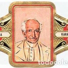 Vitolas de colección: VITOLAS HAVANA KARAKTER SERIE PAPAS COMPLETA 12 VITOLINAS. Lote 207363131