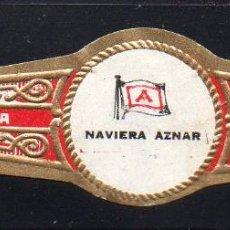 Vitole di collezione: VITOLA CLASICA: 074008, TEMA BANDERAS, NAVIERA AZNAR, HOYO DE MONTERREY, CUBA.. Lote 207911398