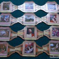 Vitolas de colección: VITOLAS CUADROS DE PINTORES ESPAÑOLES SERIE II COMPLETA RIBERA. Lote 210087505