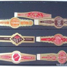 Anéis de charuto de coleção: VITOLAS ANTIGUAS. CHINCHALES CUBANOS. 10. Lote 210360847