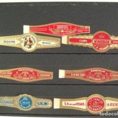 Anéis de charuto de coleção: VITOLAS ANTIGUAS. CHINCHALES CUBANOS. 17. Lote 210362705