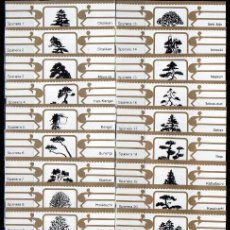 Vitole di collezione: SPANERA, BONSAIS, BLANCO/ORO, 24 VITOLAS, SERIE COMPLETA.. Lote 210443862