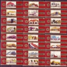Vitolas de colección: STOMPKOP, EXPOSICION INTERNACIONAL DE OSAKA 1970, 24 VITOLAS, SERIE COMPLETA.. Lote 210540540