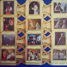 Vitolas de colección: ALVARO, ZURBARAN, SERIE 2ª, 12 VITOLINAS, SERIE COMPLETA.. Lote 210541207