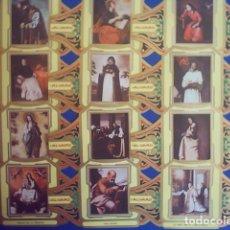 Vitolas de colección: ALVARO, ZURBARAN, SERIE 3ª, 12 VITOLINAS, SERIE COMPLETA.. Lote 210541236