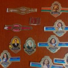 Vitolas de colección: LOTE DE 24 VITOLAS DE DIFERENTES MARCAS Y MOTIVOS. Lote 212033816