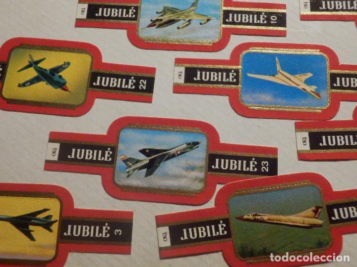 Vitolas de colección: 24 VITOLAS PUROS Y CIGARROS - CIGAR BANDS - SERIE - JUBILE - AVIONES MILTARES - Foto 3 - 212040215