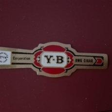 Vitolas de colección: VITOLA Y-B - CORPORATION DWG CIGAR. Lote 212280352