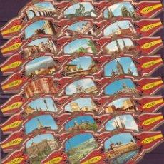 Vitolas de colección: TABACOS CAPOTE, MARAVILLAS DE ESPAÑA, 24 VITOLINAS, SERIE COMPLETA.. Lote 212852386