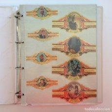 Vitolas de colección: ALBUM CON COLECCION DE VITOLAS. Lote 212861756