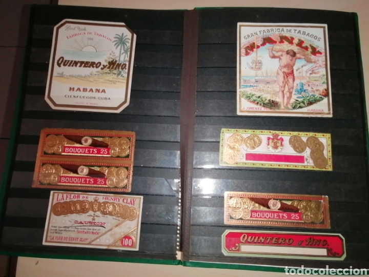 Vitolas de colección: Colección de antiguas vitolas La Habana, Cuba. - Foto 21 - 214022700