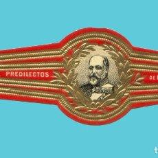 Vitolas de colección: VITOLA ANTIGUA - SIN MARCA - EL REY EDUARDO VII DE INGLATERRA. Lote 256005860