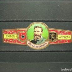 Vitolas de colección: VITOLA ANTIGUA. PRIMUS INTER PARES . BENEDICTUS ANTWERP. (864). Lote 218316098