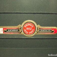 Vitolas de colección: VITOLA ANTIGUA. PRIMUS 1857 INTER PARES . (868). Lote 218316627