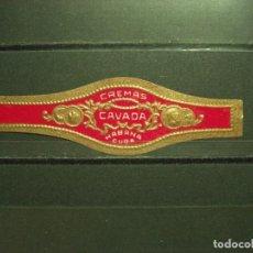 Vitolas de colección: VITOLA ANTIGUA. CHINCHALES / VITOLAS HABANA - CUBA. (779). Lote 218339340