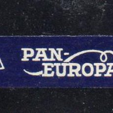 Vitolas de colección: VITOLA CLASICA: 091118, TEMA BANDERAS, PAN-EUROPA. Lote 218381170