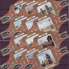 Vitolas de colección: EL GUAJIRO, LONDRES, 12 VITOLINAS, SERIE COMPLETA.. Lote 218516206
