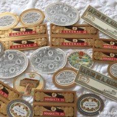 Vitolas de colección: MAQUILLAS CUBANAS. Lote 219880273