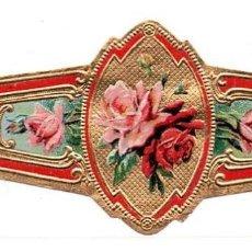 Vitolas de colección: VITOLA SIN MARCA / FLORA (PAN DE ORO). Lote 221110970
