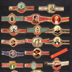 Vitolas de colección: LOTE DE 86 VITOLAS / RESTOS DE SERIES. Lote 221112426