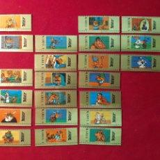 Vitolas de colección: SERIE INCOMPLETA VITOLAS . FALATA N°3 Y 8 . ASTÉRIX. KAREL I.. Lote 221667212