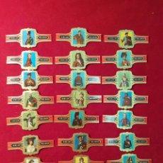 Vitolas de colección: SERIE COMPLETA 24 VITOLAS. COSTUMBRES ESCOCESAS. VERELLEN.. Lote 221667907