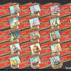 Vitolas de colección: ROKENDE JAN, BARCOS VELEROS, 24 VITOLAS, SERIE COMPLETA.. Lote 221944002